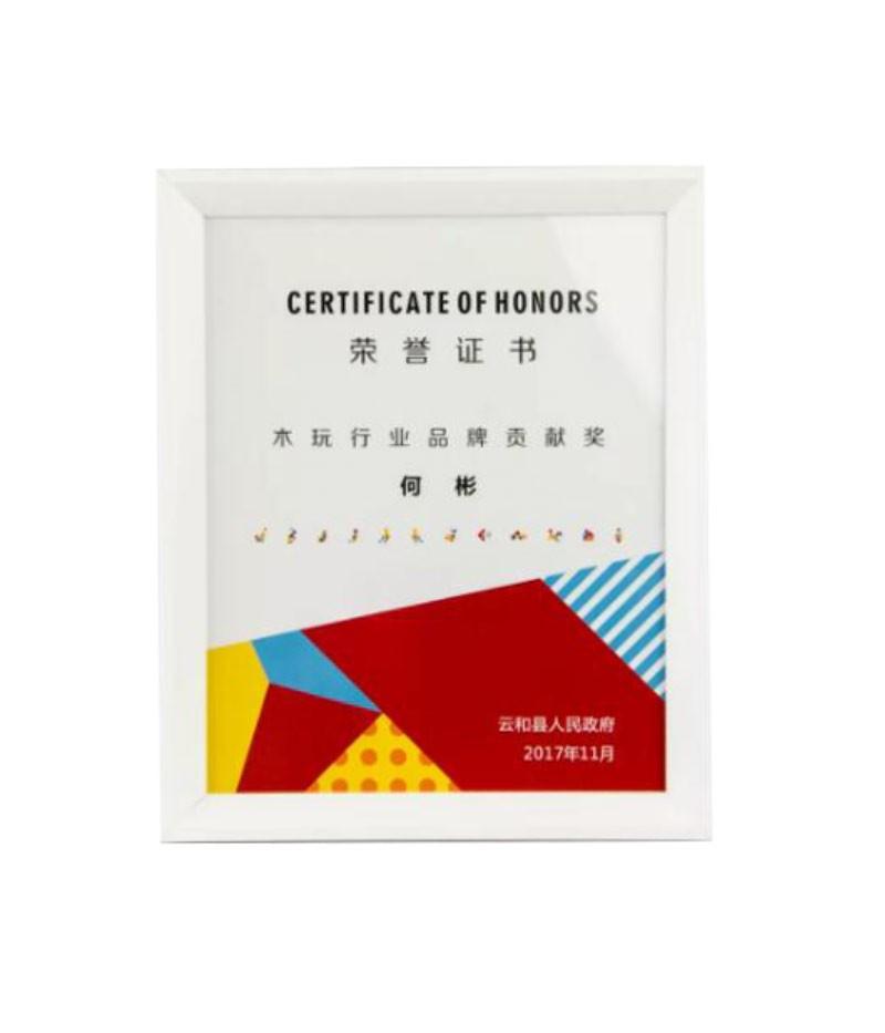 2017木玩行业品牌贡献奖